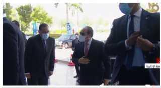 الرئيس السيسي يصل العاصمة الإدارية للمشاركة في إطلاق تقرير التنمية البشرية
