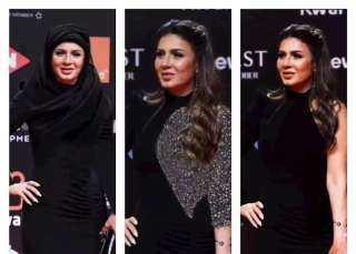 فيديو.. فستان مثير من نجلاء بدر بختام مهرجان الجونة: طول عمري تريند